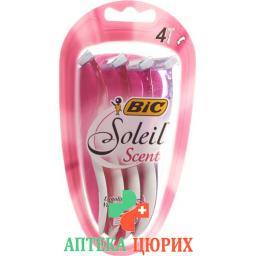 Bic Soleil Scent Frauenrasierer Dreiklingen 4 штуки