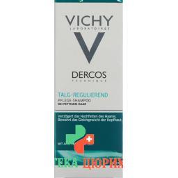 Vichy Dercos Shampoo Talgregulierend Fettiges Haar 200мл