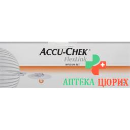Accu-chek Flexlink I Infusionsset 8ммx60см 10 штук