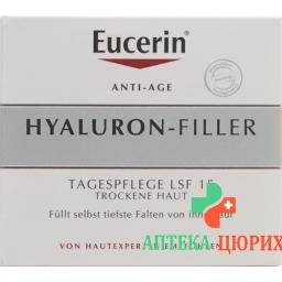 Eucerin Hyaluron-Filler Tagescreme 50мл