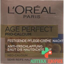 L'Oreal Dermo Expertise Age Re-Perf Pro-Cal Nacht 50мл