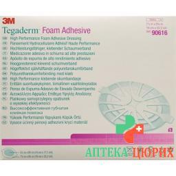 3M Tegaderm Foam Adhesive Schaumkompresse 14x17.1см 5 штук