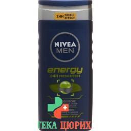 Nivea Men Energy гель для душа 250мл