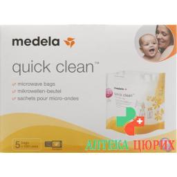 Medela quick clean Mikrowellen-Beutel