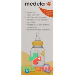 Medela Milchflasche mit Sauger 150мл S