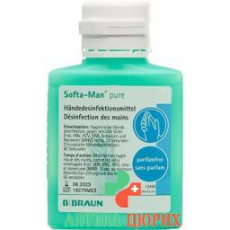 Softa-Man Pure дезинфицирующее средство для рук 100мл
