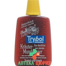 Trybol Krauter Mundwasser Reiseflasche 20мл