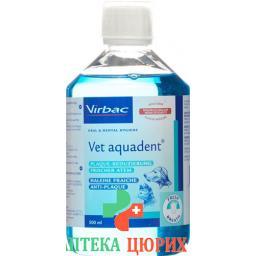 Vet Aquadent раствор fur Hunde/katzen бутылка 500мл