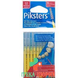 Piksters Interdentalburstchen размер 3 10 штук