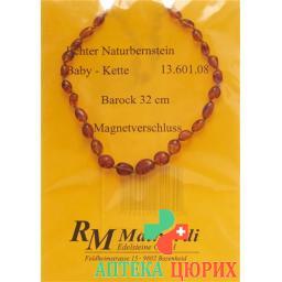 Mainardi янтарь Babykette Barock 32см Magnetverschluss