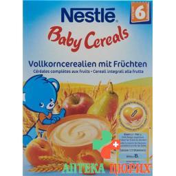 Nestle Baby Cereals Vollkorncerealien mit Fruchten для 6-месячных 250г