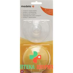 Medela Contact Brusthutchen M 20мм mit Box 1 Paar