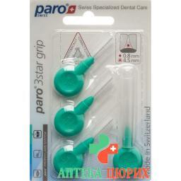 Paro 3Star-Grip 4.5мм Medium Grun Zylin 4 штуки