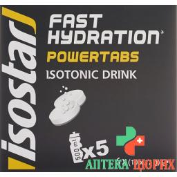 Isostar Power Tabs в растворимых таблетках Citron 6x 10 штук