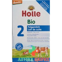 Холле органическая молочная смесь второго уровня после 6 месяцев 600 грамм
