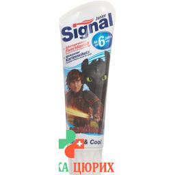 Signal зубная паста Junior в тюбике 75мл