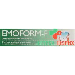 Emoform F Spezial зубная паста mit Fluor 50мл