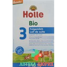 Холле органическая молочная смесь третьего уровня после 10 месяцев 600 грамм