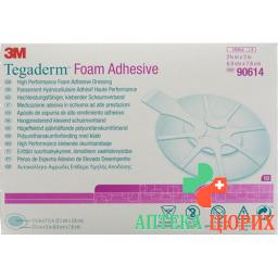 3M Tegaderm Foam Adhesive Schaumkompresse Mini Oval 10 штук