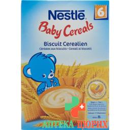 Nestle Baby Cereals Biscuit Cerealien для 6-месячных 450г
