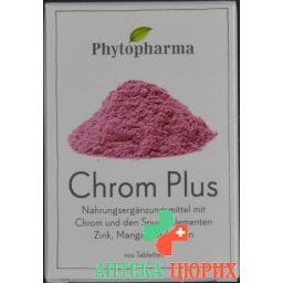 Фитофарма Хром Плюс 100 таблеток