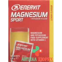 Enervit Magnesium Potassium 10 пакетиков 15г