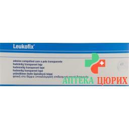 Leukofix Heftpflaster 9.2мX2.5см прозрачный 12 штук