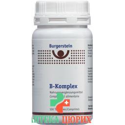 Бургерштейн B-комплекс 100 таблеток