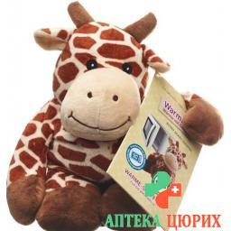 Beddy Bear Warme-Stofftier Giraffe