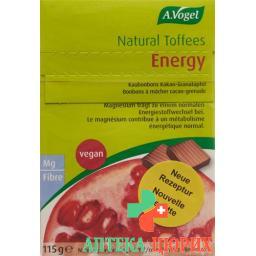 А. Фогель Натуральная энергия ириски со вкусом граната 115 г