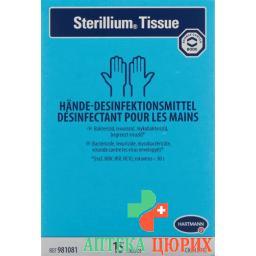 Sterillium Tissue Hande-Desinfektionsmittel 15 штук