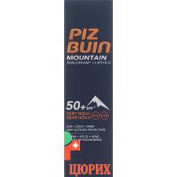 Piz Buin Mount Combi SPF 50+ Lipstick SPF 30 20мл