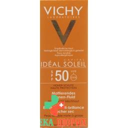 Vichy Capital Soleil Fluid LSF 50 Dry Touch 50мл