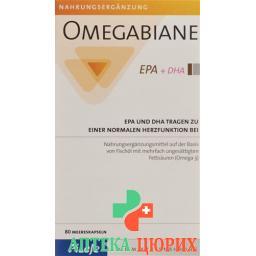 Омегабиан EPA + DHA 80 капсул