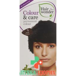 Henna Hairwonder Colour & Care 3 Dunkelbraun