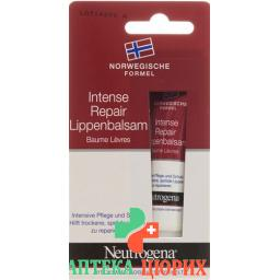 Neutrogena Intense Repair бальзам для губ 15мл