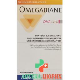 Омегабиан DHA + EPA 80 капсул