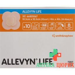 Allevyn Life Adhasiver Silikonschaumverband 10.3x10.3см 10 штук