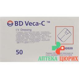 BD Veca-c катетер Fixierverband Sichtfenst 50 штук