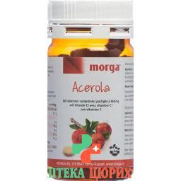 Biorex Acerola в таблетках, 80мг Vitamin C 80 штук
