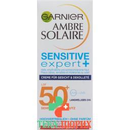 Ambre Solaire Gesichtscr Sensi Expert+ Sf50+ 75мл