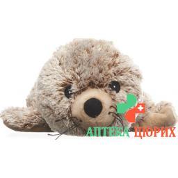 Beddy Bear Warme-Stofftier Robbe