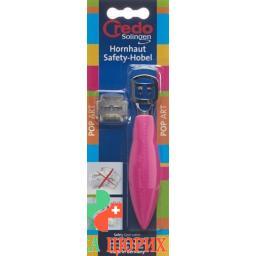 Credo Hornhaut Safety-Hobel Grun