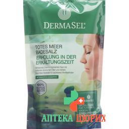 DermaSel SPA Meer Badesalz Erholung in der Erkaltungszeit +20мл 400г