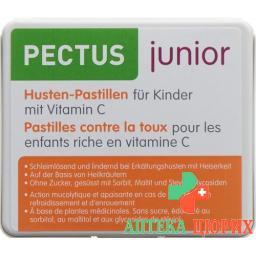 Пектус Джуниор детские пастилки от кашля с витамином C 24 шт.