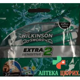 Wilkinson Extra II Sensitive Einwegrasierer 5 штук