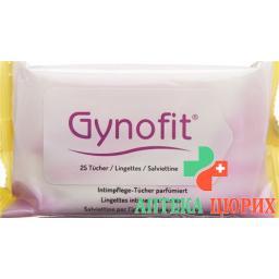 Gynofit Intimpflegetucher Parfumiert 25 штук