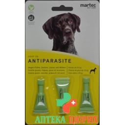 Martec Pet Care Drop On Antiparas Hund +16кг 2мл