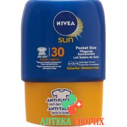 Nivea Sun Pfleg Sonnenmilch LSF 30 Pock Size 50мл
