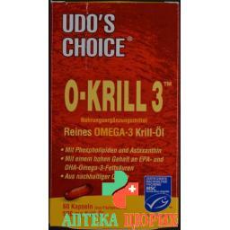 Udos Choice O-krill 3 Licaps 60 штук